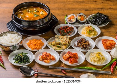 typical Korean foods