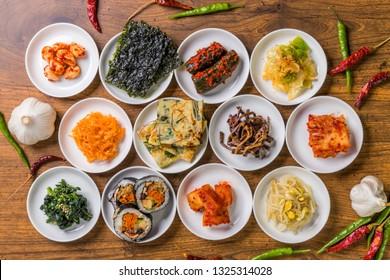 typical Korean foods