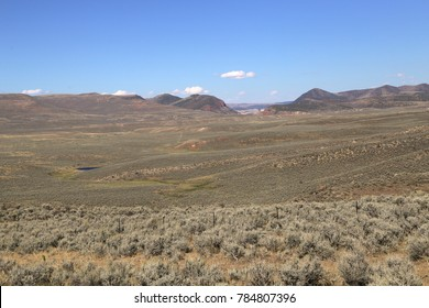 Typical landscape near Dinosaur, Colorado