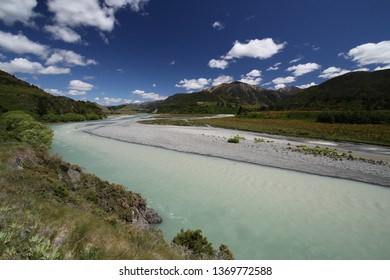 typical landscape on northern island of New Zealand