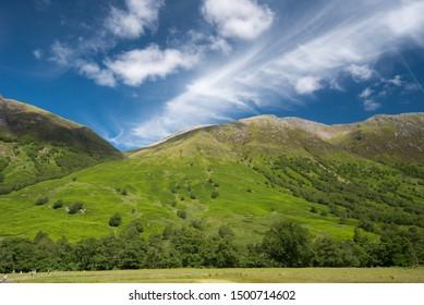 typical landscape of Scotlands West
