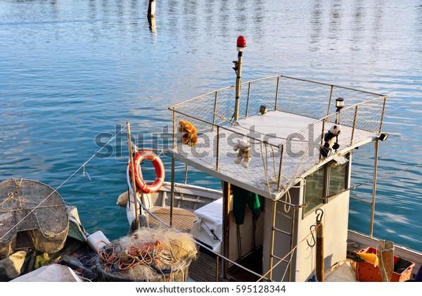 typical Ligurian fishing