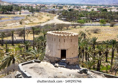typical lookout tower in Fujairah, Fujairah Emirate, United Arab Emirates