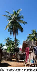 Typical Madagascar house in Nosy Be