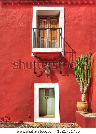 typical-mediterranean-spanish-house-red-