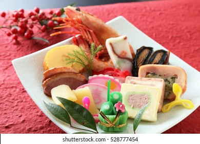 Typical New Year dishes Japanese food(osechi)