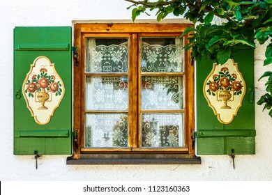 typical old bavarian window