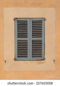 Typical old spanish  window shutter