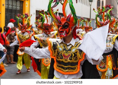 Typical Peruvian dance