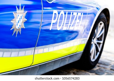 typical police vehicle in germany