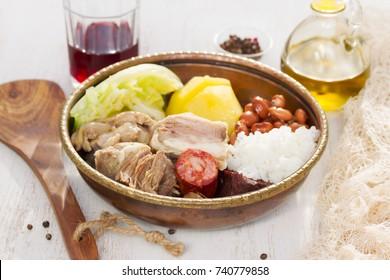 typical portuguese dish cozido a portuguesa