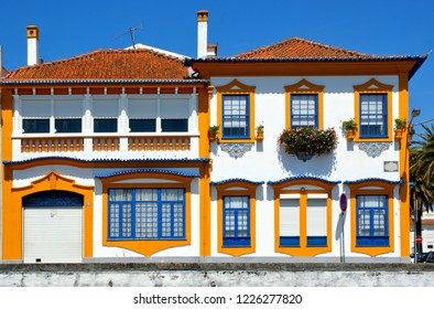 Typical portuguese house in Aveiro, Portugal
