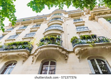 Typical residential apartment in Paris