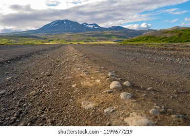 Typical Road Iceland