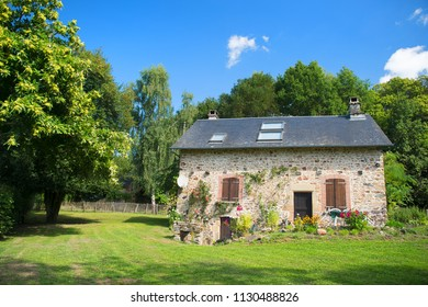Typical romantic house in France in the country