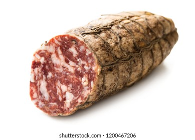Typical salami from Cremona, Italy
