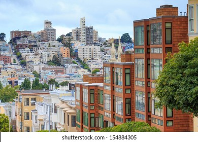 Typical San Francisco Neighborhood, California
