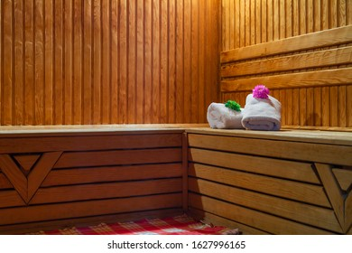 Typical sauna bath in Azerbaijan, wellness, after gym, weekend life, all for people