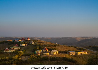 Typical scene in Transkei, South Africa