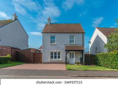 Typical Scottish Modern Detached Three Bedroomed Villa Constructed  Ten Years Ago and Situated within a Scottish Housing Estate