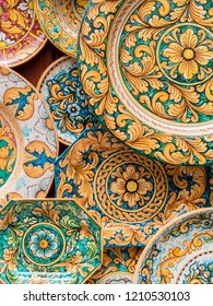 Typical Sicilian ceramics.