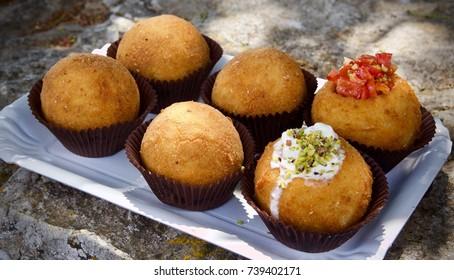 A typical Sicilian street food.