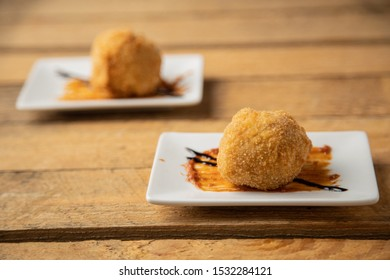 typical spanish top, deliciosa croquette