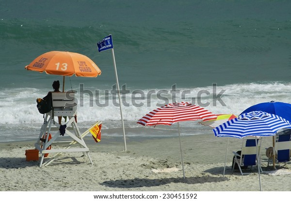 Typical Summer day at the beach