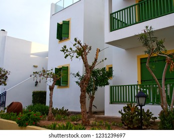 Typical traditional local Mediterranean Cypriot style design house Cyprus the famous summer travel destination