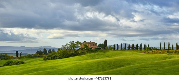 Typical Tuscan landscape in Italy