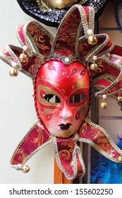Typical venetian carnival mask
