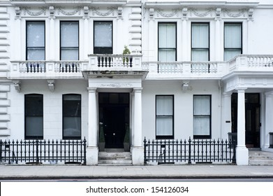 A typical Victorian residential building in London