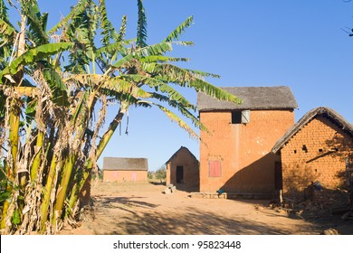 Typical village of the Malagasy highlands