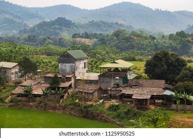 A typical village in Vietnam