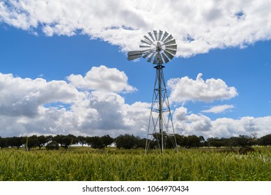 A typical wind pump