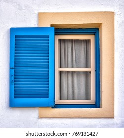 Typical window from Crete, Greece