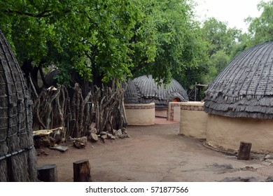 Typical zulu houses