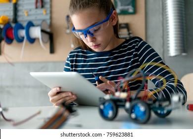Typing on digital tablet
