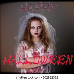 Typographical Quote - Happy Halloween