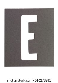 Typography image with texture of the letters 'e'