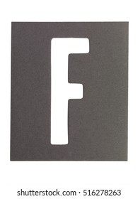 Typography image with texture of the letters 'f'