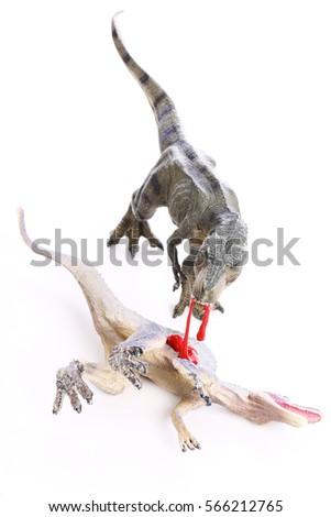 Tyrannosaurus Rex Vs Spinosaurus Foto de stock (editar ahora ...