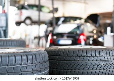Imágenes, fotos de stock y vectores sobre Tyre Retailer