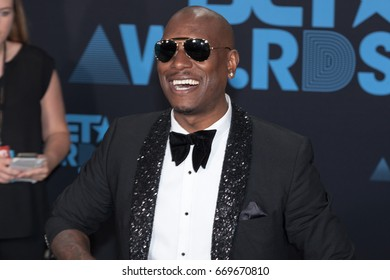Tyrese Gibson attends the 2017 BET Awards at Microsoft Theater on June 25th, 2017 in Los Angeles, California - USA