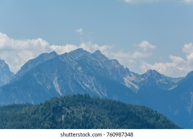 Tyrol mountains in summer