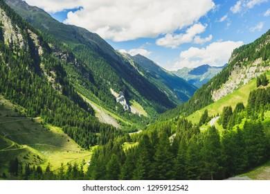tyrolean Countryside at Kaunertal