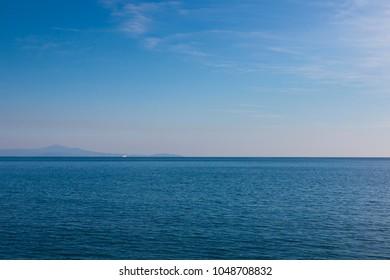 Tyrrhenian Sea Italy