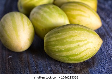 tzimbalo wild melon pear in Ecuador