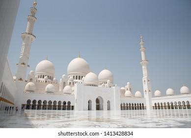 UAE, Abu Dhabi, Sheikh Zayed Grand Mosque