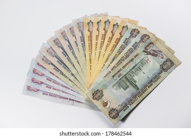 UAE Dirhams assorted currency notes